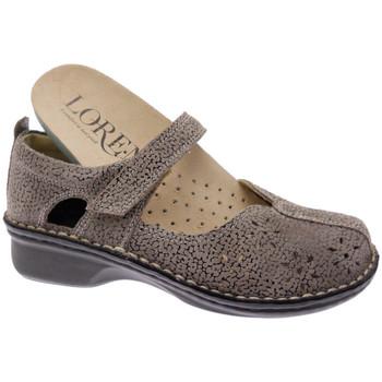 Schuhe Damen Ballerinas Calzaturificio Loren LOM2313tabo tortora