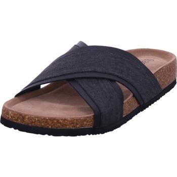 Schuhe Herren Pantoffel Hengst - T40520 schwarz