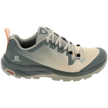 Schuhe Damen Wanderschuhe Salomon Vaya Gris Saumon Grau