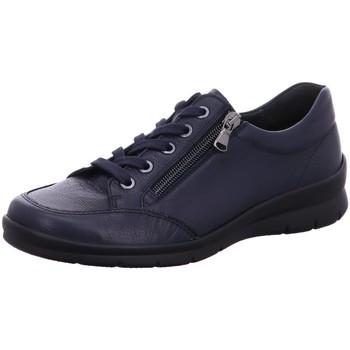 Schuhe Damen Sneaker Low Semler Schnuerschuhe X2095011/070 070 blau