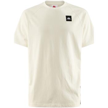 Kleidung Herren T-Shirts Kappa - T-shirt bianco 304SC50-905 BIANCO