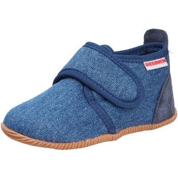 Schuhe Jungen Babyschuhe Giesswein Jungen Hausschuhe blau