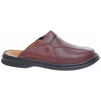 Schuhe Herren Pantoletten / Clogs Josef Seibel Pantoletten Braun