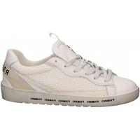 Schuhe Damen Sneaker Low Cromier TECNO NAPPA bianco