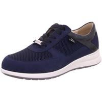 Schuhe Damen Sneaker Low Finn Comfort Schnuerschuhe 02282/902000 blau