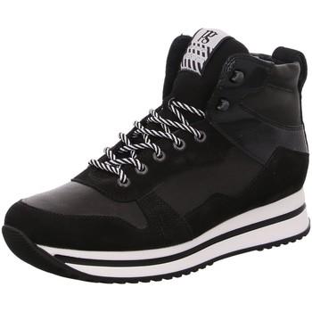 Schuhe Damen Sneaker Paul Green 4893 015 schwarz