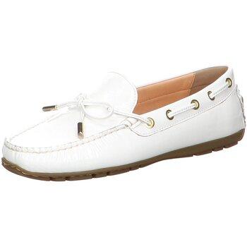 Schuhe Damen Bootsschuhe Sioux Schnuerschuhe Carmona-701 65252 weiß