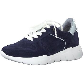 Schuhe Damen Sneaker Jana Schnuerschuhe Woms Lace-up 8-8-23729-24/890 blau