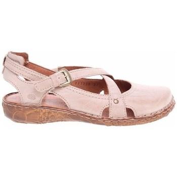 Schuhe Damen Sandalen / Sandaletten Josef Seibel Ballerinas Rosa
