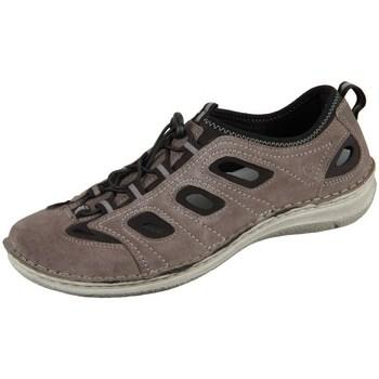Schuhe Herren Sportliche Sandalen Josef Seibel Slipper Anvers Grau, Braun