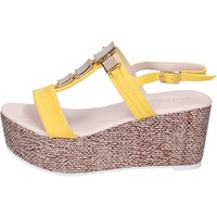 Schuhe Damen Sandalen / Sandaletten Solo Soprani BN647 gelb