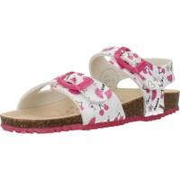 Schuhe Mädchen Sandalen / Sandaletten Garvalin 202666 Weiß
