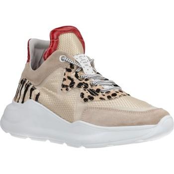 Schuhe Damen Sneaker Low Cetti C1187SRA Beige