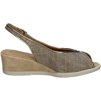 Schuhe Damen Sandalen / Sandaletten Melluso G301 Mit Keil Frau PLATINUM PLATINUM