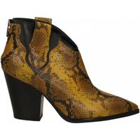 Schuhe Damen Low Boots Janet&Janet SATIRO giallo-nero
