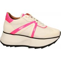Schuhe Damen Sneaker Low Alexander Smith CHELSEA white-fluo-pink