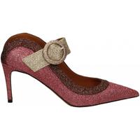 Schuhe Damen Pumps Martina T SABOT GLITTER rosso