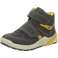 Schuhe Jungen Stiefel Salamander Klettstiefel 33-38002-25 grau