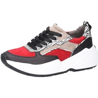 Schuhe Damen Sneaker Low Kennel + Schmenger Calf Zebra Komb 2124820571 schwarz