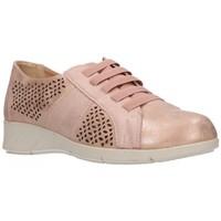 Schuhe Damen Sneaker Balleri 2033-1 Mujer Rosa rose