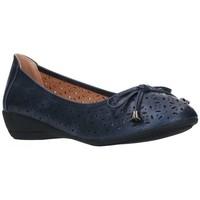 Schuhe Damen Ballerinas Balleri 2059-1 Mujer Azul marino bleu