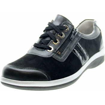 Schuhe Damen Derby-Schuhe & Richelieu Stuppy Comfort Schnürchuh 3973 688 02 Schwarz