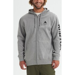 Kleidung Herren Sweatshirts Burton Men's Elite Full Zip Hoodie Gray Heather