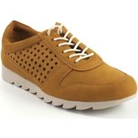 Schuhe Damen Sneaker Low Amarpies Damenschuh  17312 aqh Senf Gelb