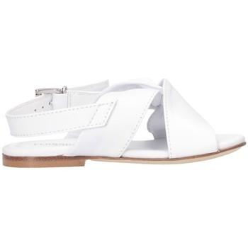 Schuhe Mädchen Sandalen / Sandaletten Florens J055450B Sandalen Kind weiß weiß
