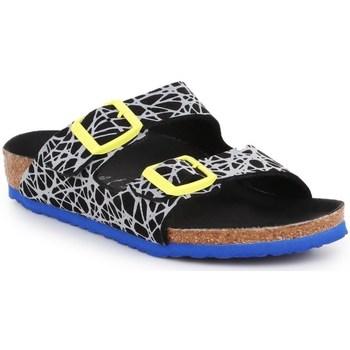 Schuhe Kinder Derby-Schuhe & Richelieu Birkenstock Arizona Kids Schwarz