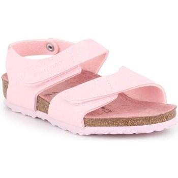 Schuhe Kinder Derby-Schuhe & Richelieu Birkenstock Palu Kids Logo Rosa