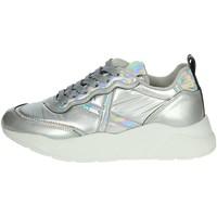 Schuhe Damen Sneaker Low Munich 8770022 Silber