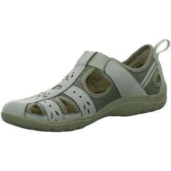 Schuhe Damen Sandalen / Sandaletten Earth Spirit Slipper 36001-19 weiß