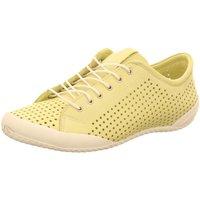 Schuhe Damen Sneaker Low Andrea Conti Schnuerschuhe 0345767-049 grün