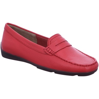 Schuhe Damen Slipper Wirth Slipper Halbschuh,mandarim red 35008 rot