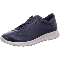 Schuhe Damen Sneaker Low Ecco Schnuerschuhe Flexure Runner 292333-01038 blau