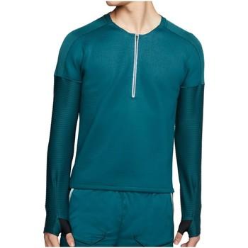 Kleidung Herren Pullover Nike Sport Tech Pack Hybrid Knit HZ Top CJ5741-347 türkis