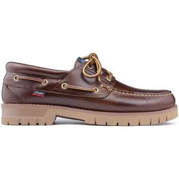Schuhe Herren Bootsschuhe CallagHan FREEPORT Nautische Schuhe BROWN