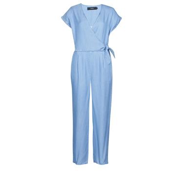 Kleidung Damen Overalls / Latzhosen Vero Moda VMLAURA Blau