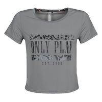 Kleidung Damen T-Shirts Only Play  Grau