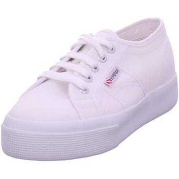Schuhe Damen Sneaker Low Superga Cotu weiß