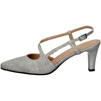 Schuhe Damen Pumps Soffice Sogno E20033 SILVER
