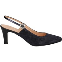 Schuhe Damen Pumps Soffice Sogno E20036 BLUE