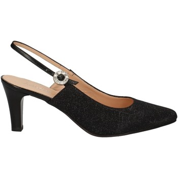 Schuhe Damen Pumps Soffice Sogno E20036 BLACK