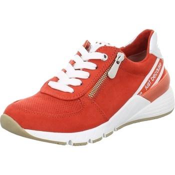 Schuhe Damen Sneaker Low Marco Tozzi 222373934621 Rot