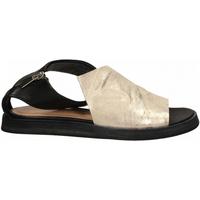 Schuhe Damen Sandalen / Sandaletten Salvador Ribes METAL PARKER + MATRIX panna-nero