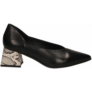 Schuhe Damen Pumps Laura Bellariva PITONE FRIDA roccia-nero
