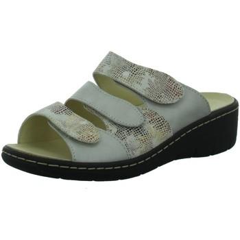 Schuhe Damen Pantoletten / Clogs Longo Pantoletten Da.Pantolette 1019998 beige