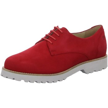 Schuhe Damen Derby-Schuhe & Richelieu Sioux Schnuerschuhe fire lambsuede 65371 rot