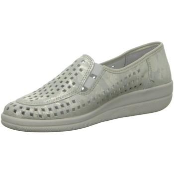 Schuhe Damen Slipper Longo Slipper Bequemslipper,tancos ice 1045287 silber